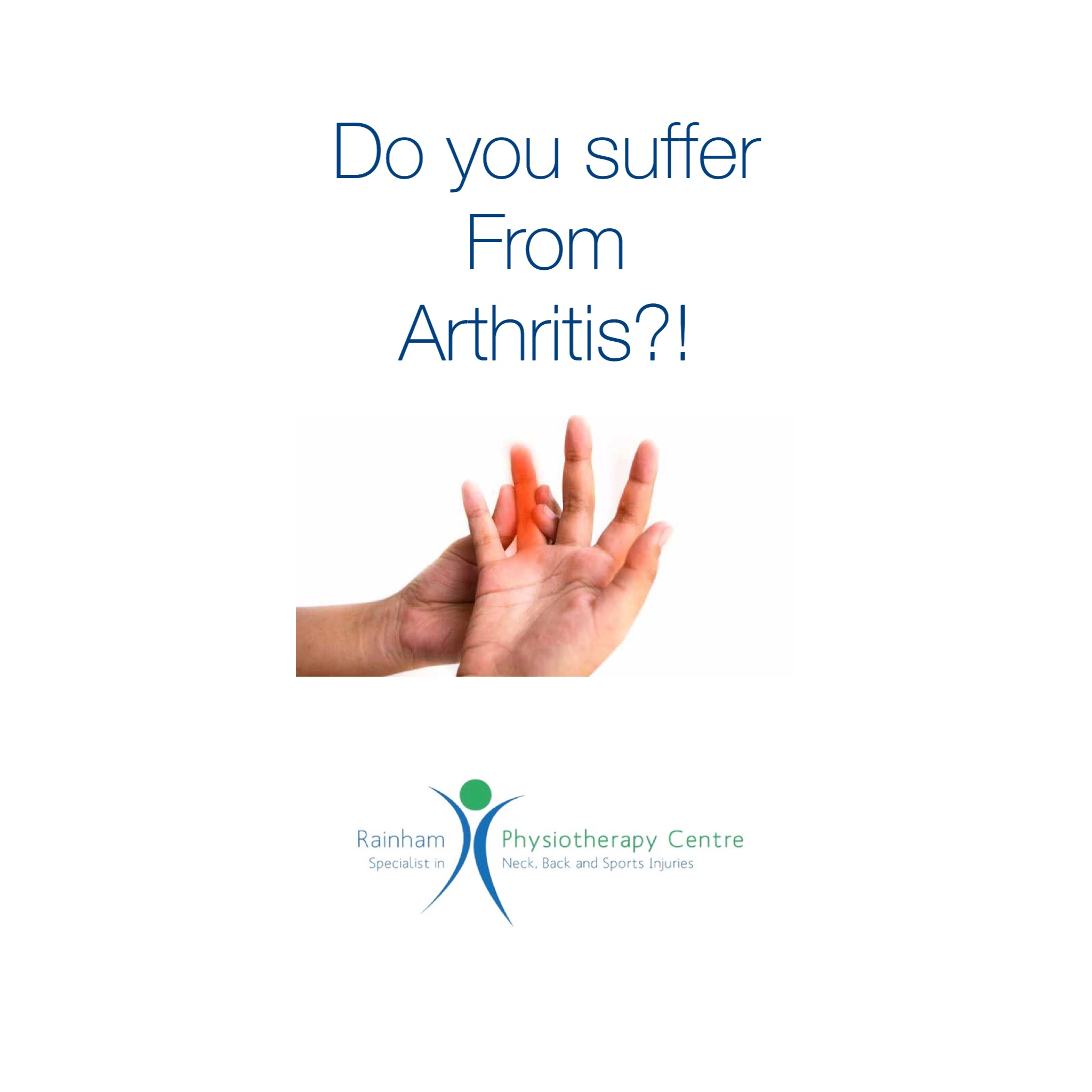 Do you suffer from Arthritis?
